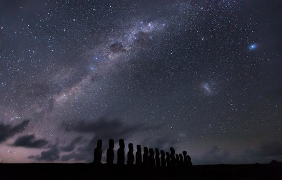 Rapa Nui National Park: Night view