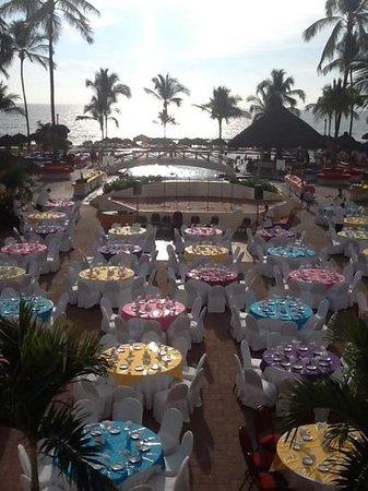 Marival Resort & Suites : fiesta night at Marival