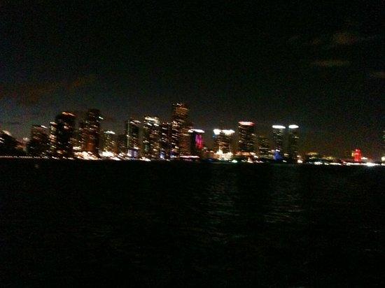 Freedom Tower: Es el punto rojo a la derecha