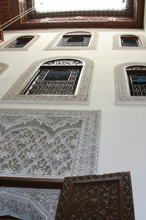 Dar Farah : View upwards from courtyard