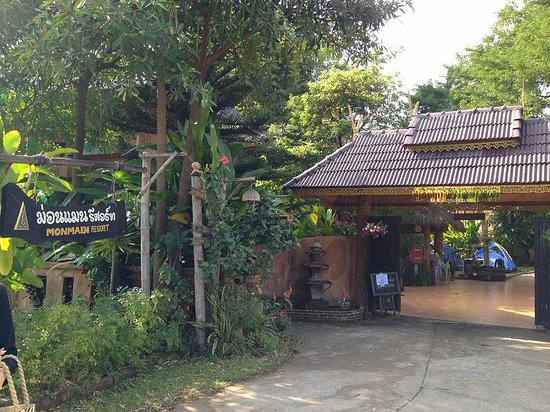 Monmaen Resort & Spa: Hotel Entrance