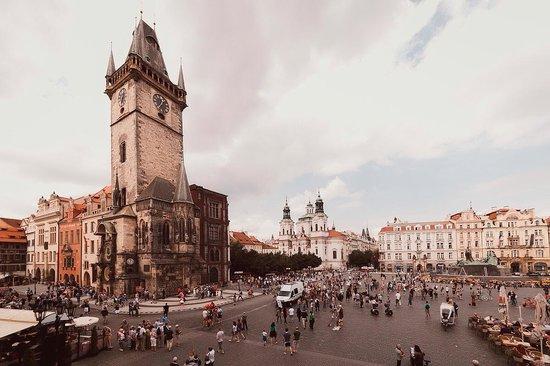 Old Town Square : Вид из окна