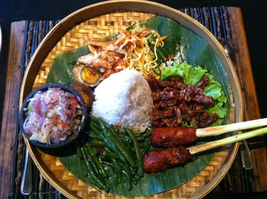 Gabah Restaurant & Bar: Nasi Campur bali