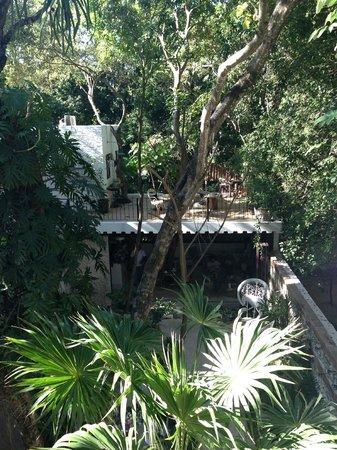 Hotel La Semilla: Garden view room