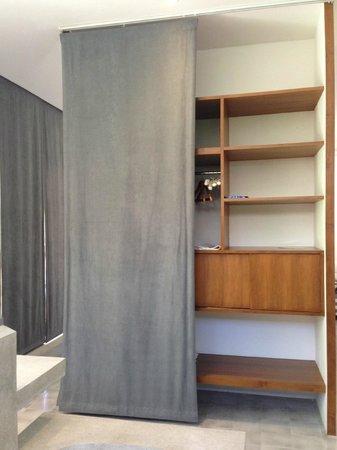 Uma Sapna: Storage area @ Room Moyo