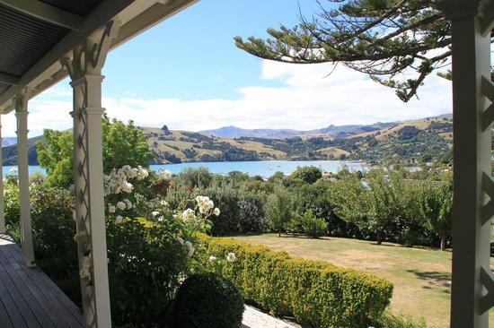 Akaroa House : View form the balcony