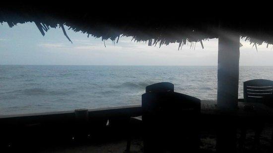 Joe's Cafe: крайние столики иногда достает океан :)