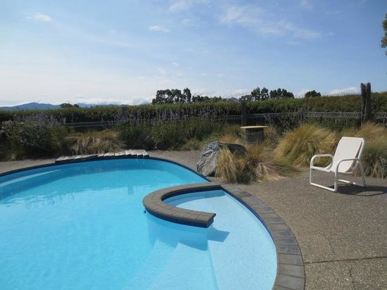 St Leonards Vineyard Cottages: Swimming Pool