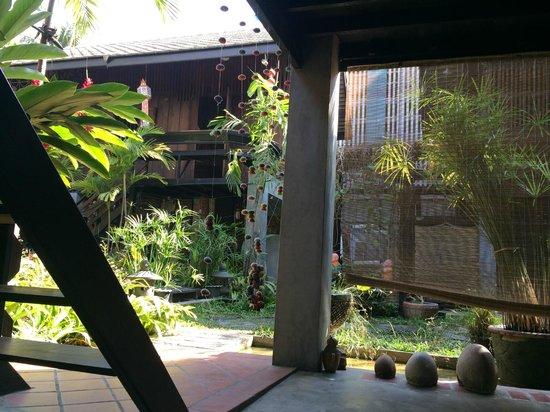 Chiang Mai Summer Resort: 3号楼楼下看出去的花园