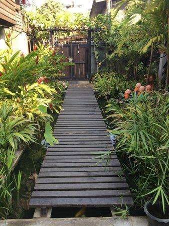 Chiang Mai Summer Resort: 花园