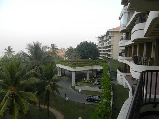 Taj Samudra Colombo: The view from balcony