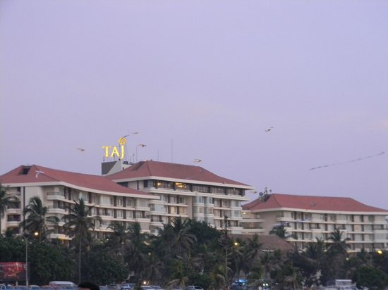 Taj Samudra Colombo: The view from outside