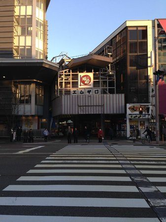 APA Hotel Kanazawa Ekimae: Fish Market is a must to visit