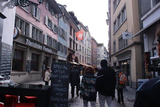 Old Town (Altstadt) : Old Town Zurich