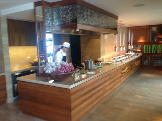 Four Seasons Resort Koh Samui Thailand : Buffet petit dejeuner