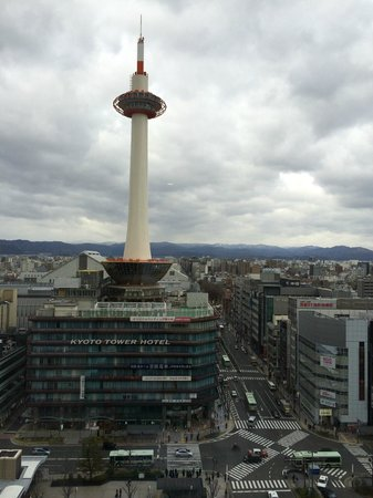 Hotel Granvia Kyoto: Day view from Room