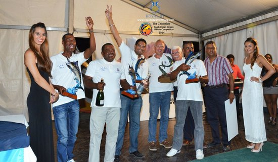 Trou d'eau Douce: Royal III - Best Fishing Team in Mauritius - Champion of S.I.O.B.C - Prize Giving Ceremony