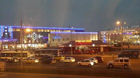 Opera Hotel & Spa: вид на площадь перед жд вокзалом