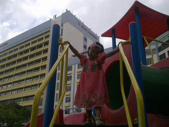 Grand Margherita Hotel: Playground at grand margeritha