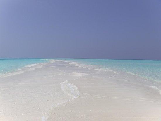 Kuredu Island Resort & Spa: View from Sangu sideNo Fraud