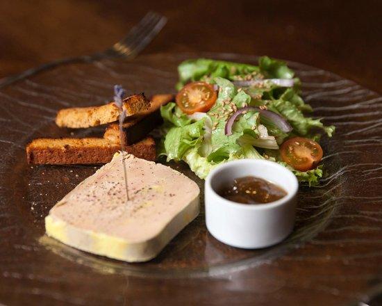 Le Vieux Four : Foie-Gras de Canard, Pain d'Epices et Confit de Figue