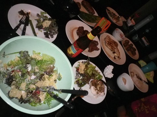Kanaloa at Kona : dinner グリルで焼いたお肉最高