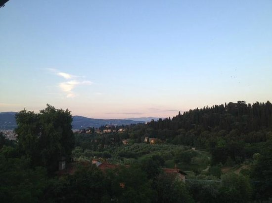 Park Palace Hotel : View from the room was great, but is there such a things as a bad veiw in Tuscany?!