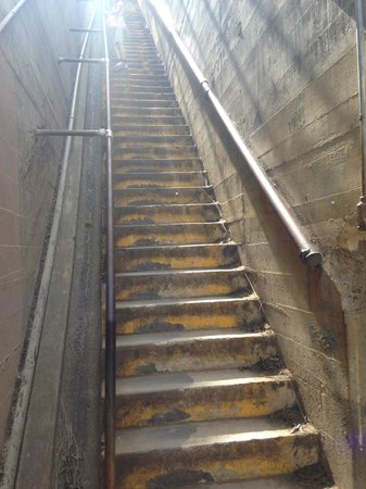 Diamond Head : First staircase.