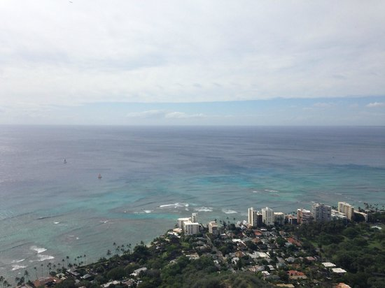 Diamond Head : View from the top.