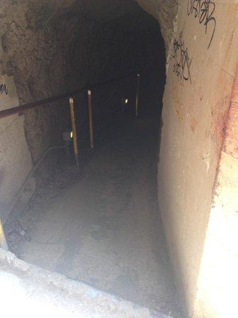Diamond Head (Cabeza de Diamante): Tunnel.