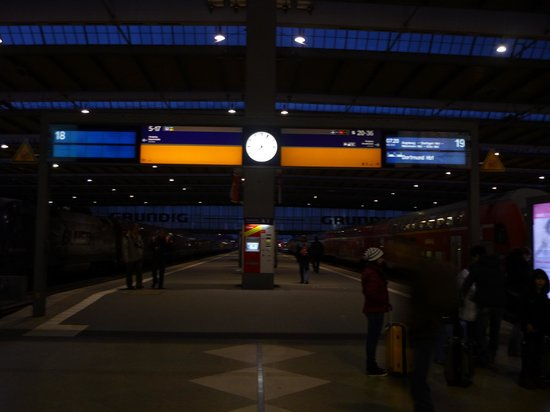 City Sightseeing Munich: Haupt Bahnhof Munich