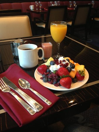 Washington Hilton : Breakfast