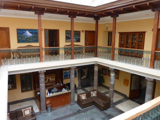 Hotel Boutique Plaza Sucre: Interior Courtyard