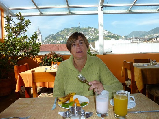 Hotel Boutique Plaza Sucre: Breakfast and View Included