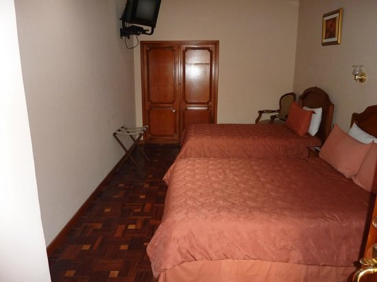 Hotel Boutique Plaza Sucre: Double Room