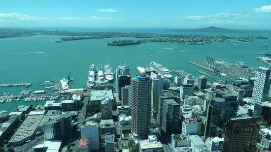 Sky Tower : View from Skydeck