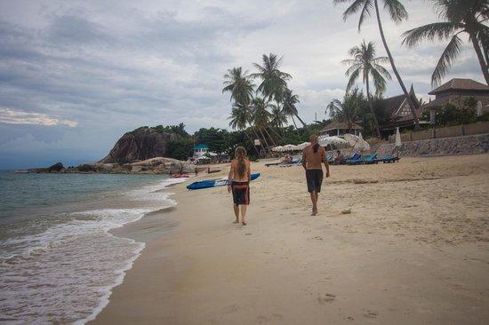 Samui Beach Resort : пляж