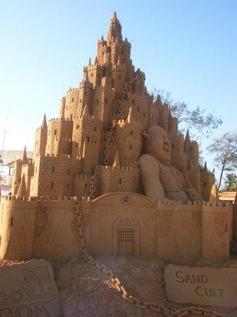 Osborne Resort Goa: Castle creation built on Calangute beach.