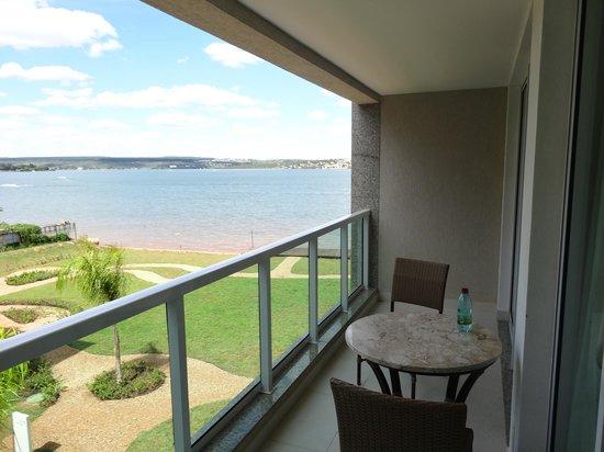 Intercity Brisas do Lago: Balcony view