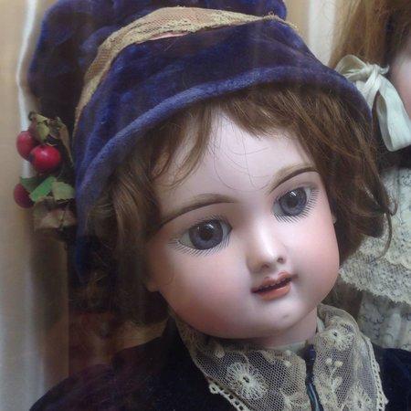 Musée de la Poupée: Doll in musee de la poupee