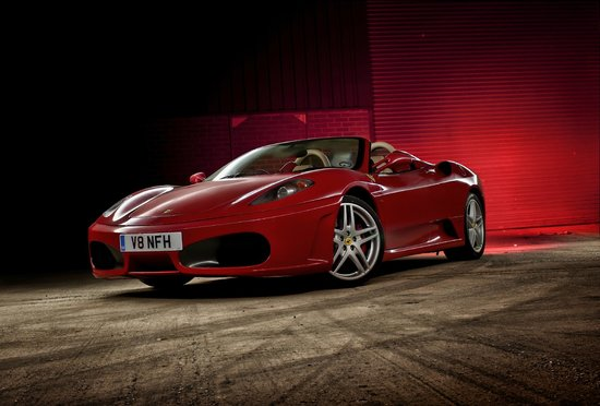 West Kilbride, UK: Ferrari F430 Spider