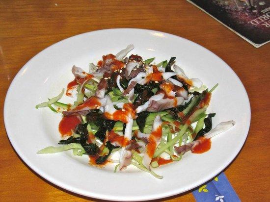 Tokyo Cafe: Miso salad
