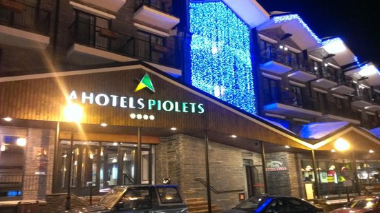 Hotel Piolets Soldeu Centre : The hotel