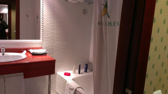 Hotel Piolets Soldeu Centre : The bathroom