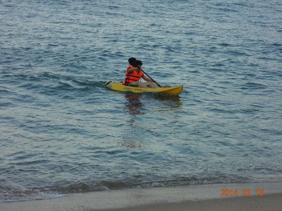 AVANI Quy Nhon Resort & Spa: kayaking