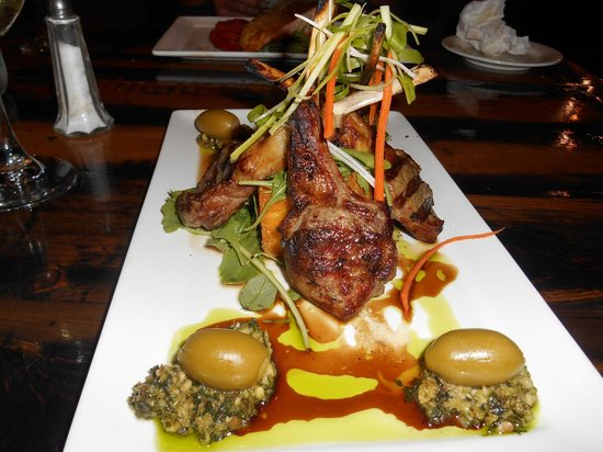 Anchorage Seafront Hotel: Rack of Lamb.