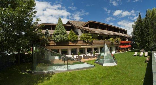 Rubner Hotel Rudolf: Garten