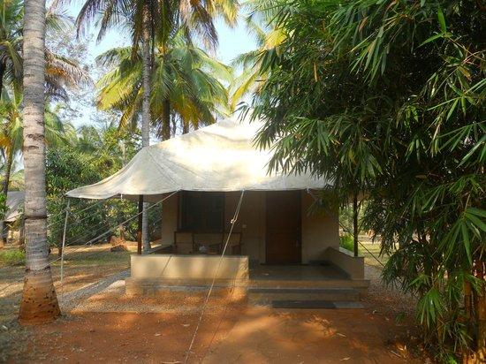Shreyas Yoga Retreat: Garden tent cottage