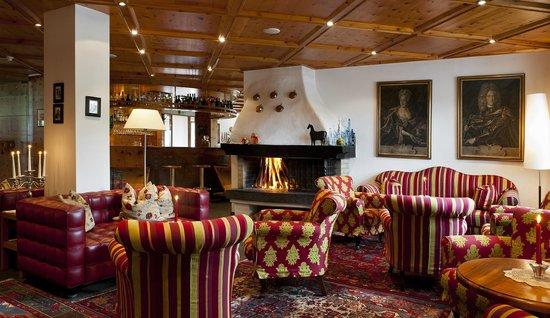 Rubner's Hotel Rudolf: Hotelhalle