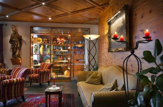 Rubner's Hotel Rudolf: Bibliothek